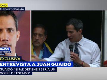 """Juan Guaidó en Espejo Público: """"Si me detienen será un golpe de Estado"""""""