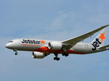 Un avión de Jetstar Airways