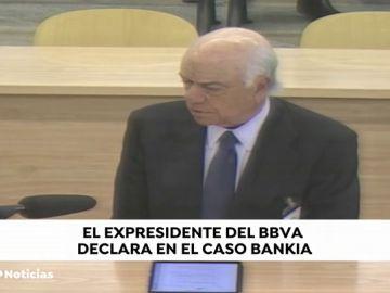 """REEMPLAZO Francisco González, expresidente de BBVA:  """"Las cuentas de Bankia estaban alejadas de la realidad"""""""