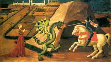 San Jorge y el dragón - Paolo Ucello