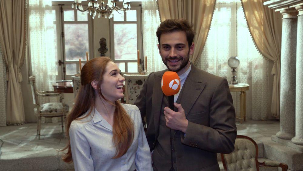 Vídeo: Claudia Galán y Rubén Bernal hacen balance de los momentos clave de Julieta y Saúl