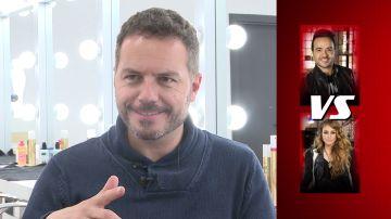 Ángel Cortés se enfrenta a un test en 'La Voz'