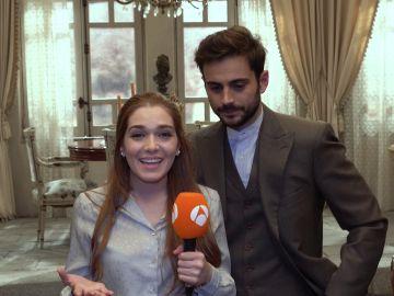 Vídeo: El emotivo mensaje de despedida de Julieta y Saúl
