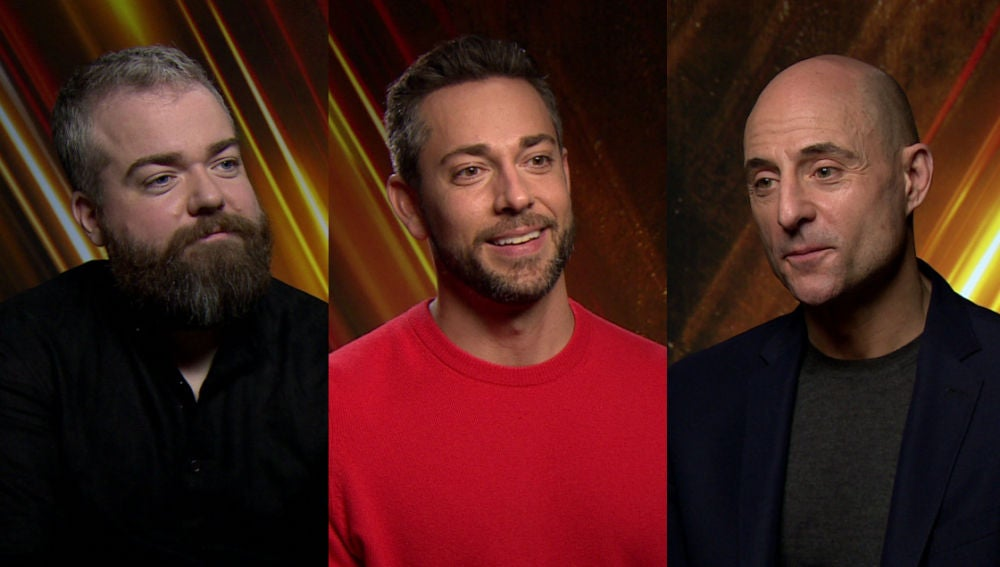 David F. Sandberg, Zachary Levi y Mark Strong nos hablan de '¡Shazam!'