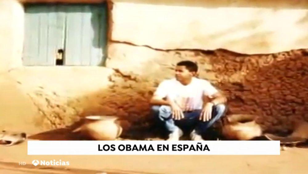 La primera vez que Barack Obama pisó España fue en los años 80 y lo hizo como 'mochilero'