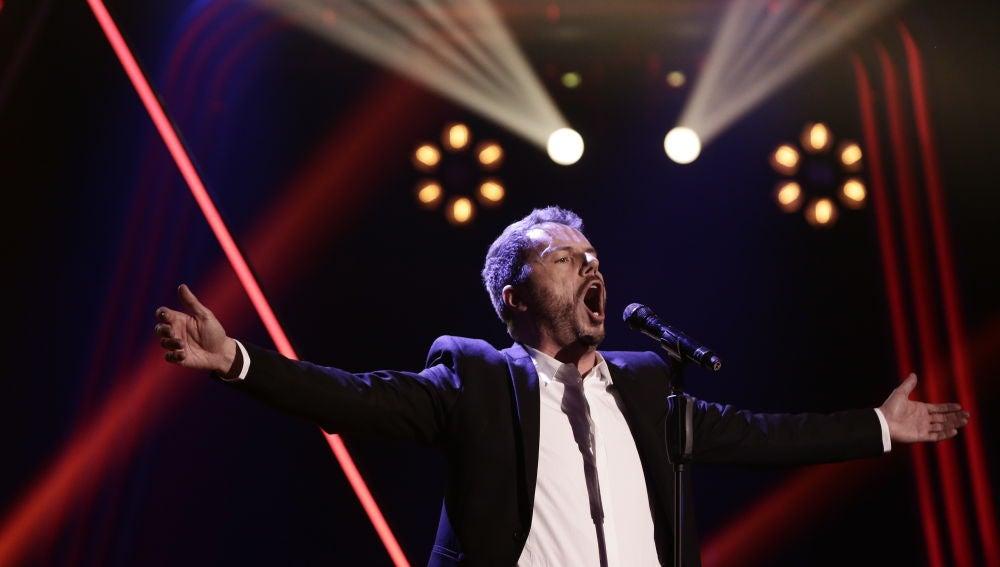 VÍDEO: Ángel Cortés canta 'Amapola' en la Semifinal de 'La Voz'