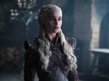 Emilia Clarke en la última temporada de 'Juego de Tronos'