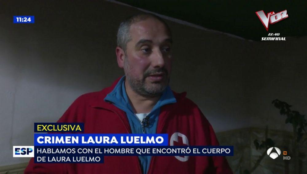 El hombre que encontró el cadáver de Laura Luelmo
