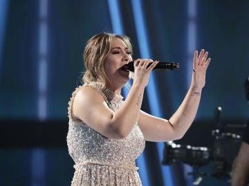 María Espinosa canta 'Uno x uno' en la Semifinal de 'La Voz'