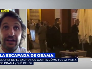 El chef de 'El Bache' cuenta la escapada de Obama