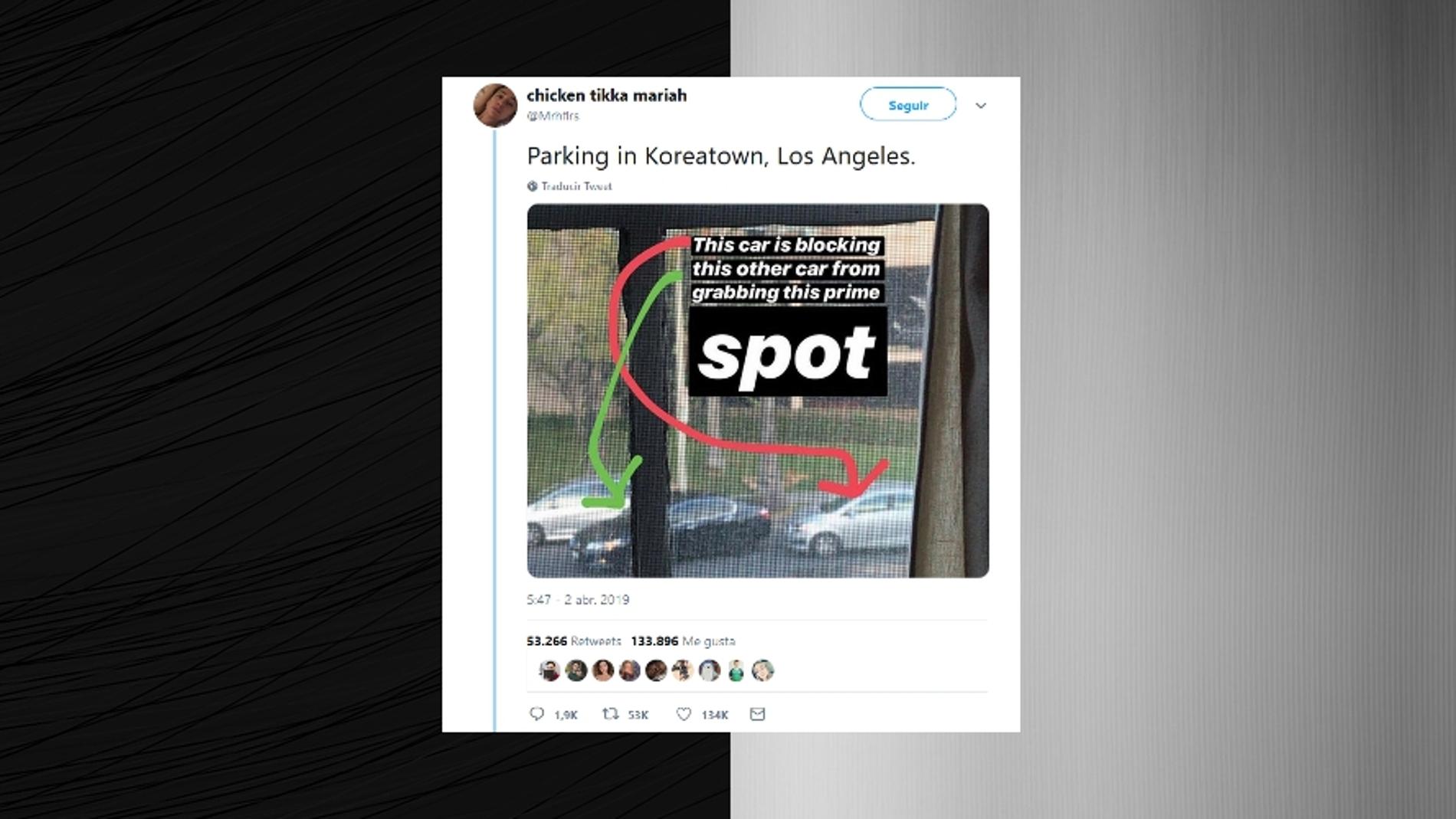 Aparcando en Los Ángeles