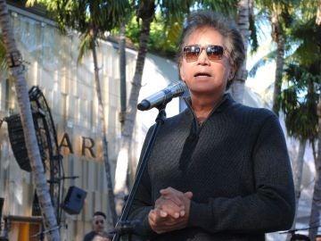 Fotografía de archivo del cantante José Luis Rodríguez 'El Puma'