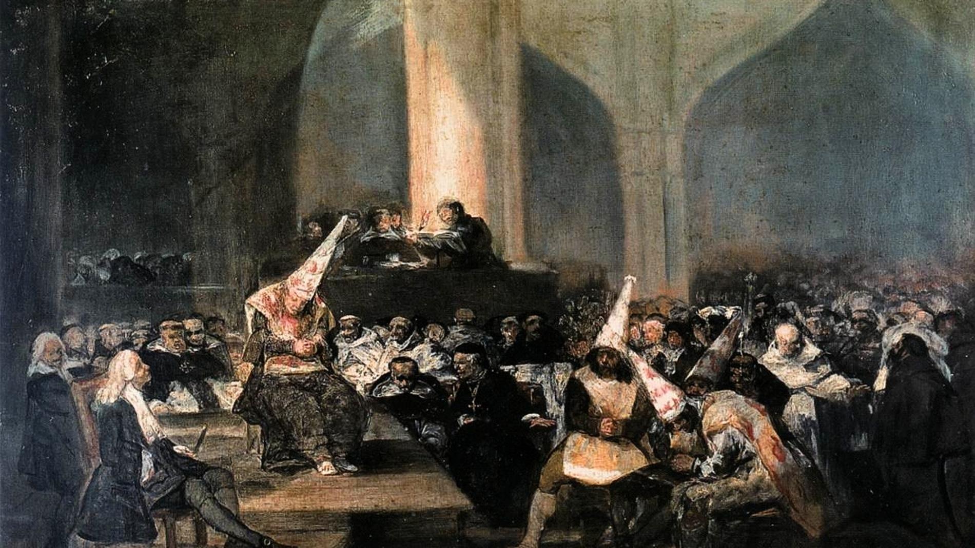 Tribunal de la inquisición, Goya