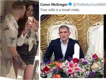 Conor McGregor y Khabib Nurmagomedov se enzarzan en redes