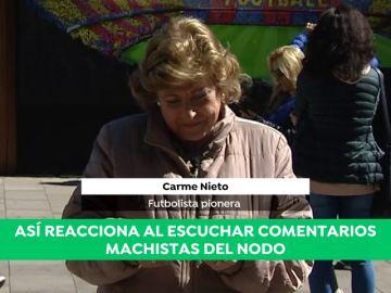 """Los comentarios machistas del NODO en los partidos de fútbol femenino: """"Cambiará el juego por una batería de cocina..."""""""