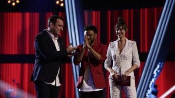 VÍDEO: Javi Moya se convierte en finalista de 'La Voz' por el equipo de Antonio Orozco