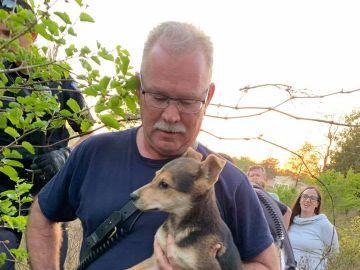 El perro y su rescatador