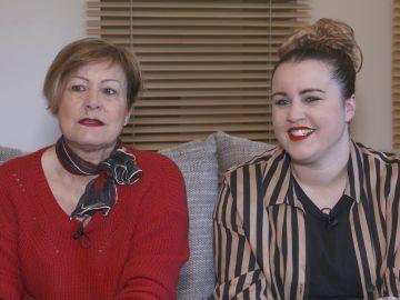Raquel y Mª Ángeles, concursantes de 'Masters de la reforma'