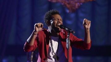 VÍDEO: Marcelino Damion canta 'Earned it' en la Semifinal de 'La Voz'