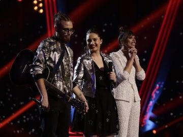 Andrés Martín se convierte en finalista de 'La Voz' por el equipo de Pablo López
