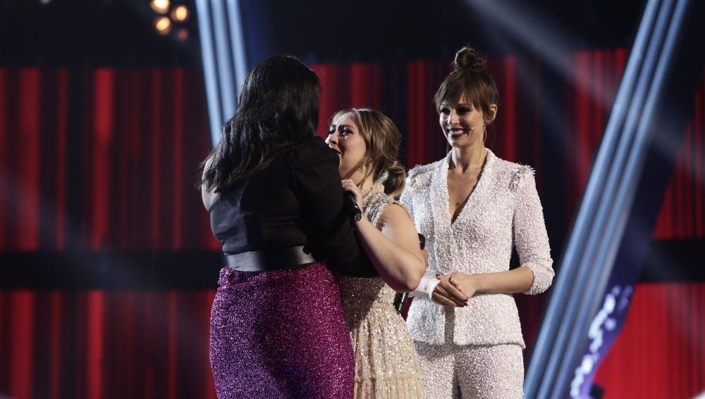 María Espinosa se convierte en finalista de 'La Voz' por el equipo de Luis Fonsi
