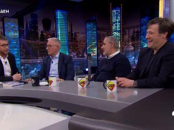 Xavier Sardà, Carlos Latre y Jorge Salvador zanjan en 'El Hormiguero 3.0' la polémica de los rumores sobre las orgías