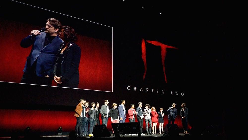 El reparto de 'It: Capítulo 2' en la CinemaCon