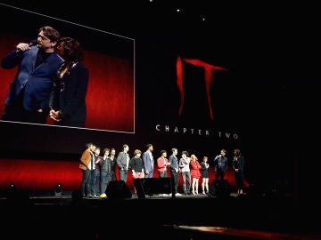 El reparto de 'It: Capítulo 2' en la CinemaCon