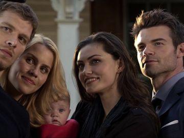 La familia Mikaelson en 'The Originals'