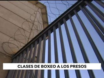 Los presos de Alcalá Meco reciben clases de boxeo