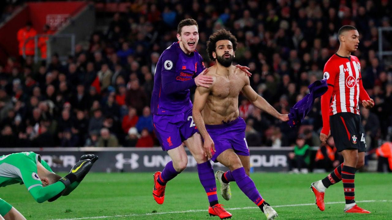 El Liverpool Remonta Ante El Southampton Y Recupera El