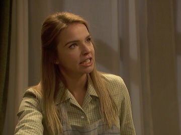 Una Antolina llena de ira no se rinde y niega su engaño a Isaac delante de las pruebas de su falso embarazo