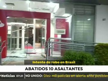 Atraco a un robo de Brasil