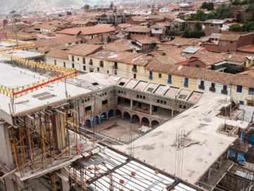 Multan con dos millones de dólares a empresa que construye hotel en Cusco
