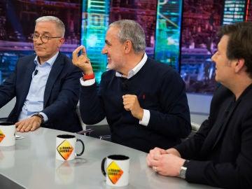 La divertida anécdota de Jorge Salvador y Carlos Latre con la policía en 'El Hormiguero 3.0'