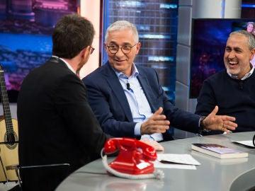 Xavier Sardà relata en 'El Hormiguero 3.0' su enfado con Aznar