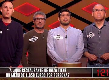 La original respuesta de Erundino a la pregunta sobre qué restaurante de Ibiza tiene un menú de 1.650 euros por persona