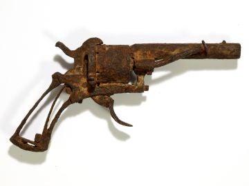 El revólver con el que supuestamente se suicidó Van Gogh