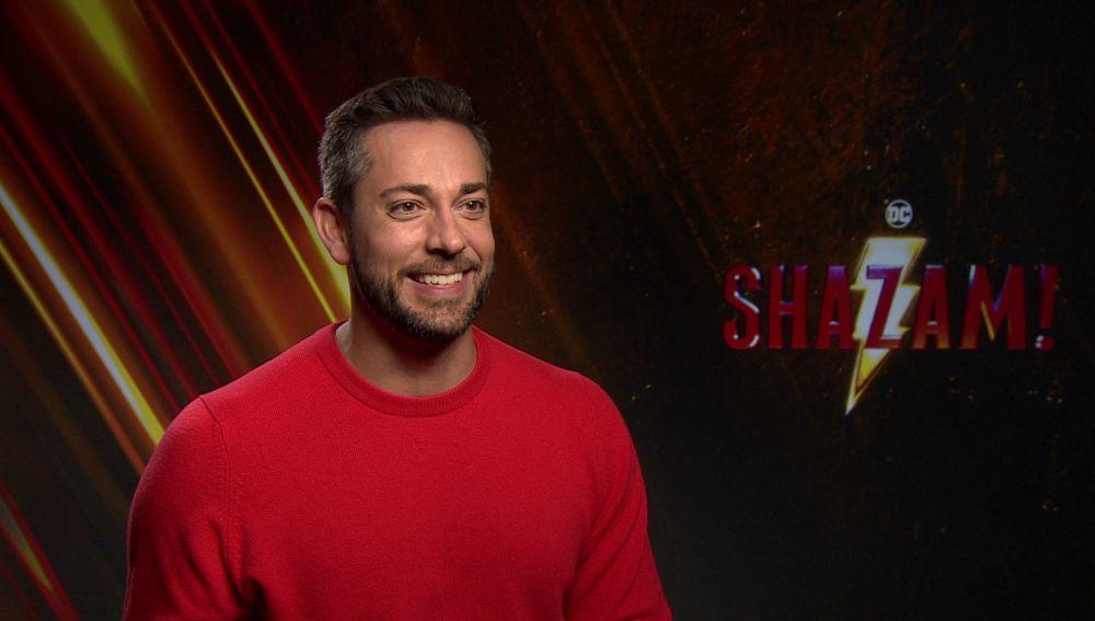 Zachary Levi es '¡Shazam!'