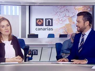 Ana Pastor repasa en Antena 3 Canarias sus 3 años en el Congreso