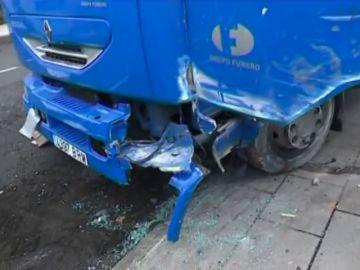 Conductor fallece aplastado por su propio camión