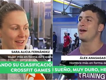 Sara y Álex, los dos españoles más en forma de España