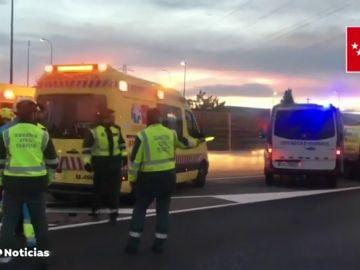 Un muerto y tres heridos en un accidente de tráfico en Hoznayo, Cantabria