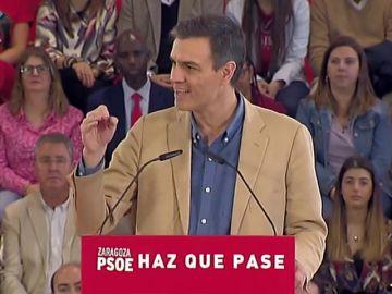 """Pedro Sánchez promete """"defender con uñas y dientes"""" el Estado de las autonomías"""