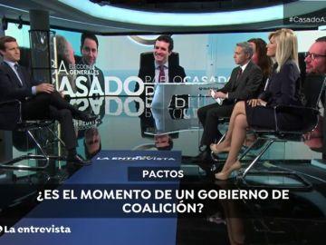 Los titulares de Pablo Casado en Antena 3 Noticias