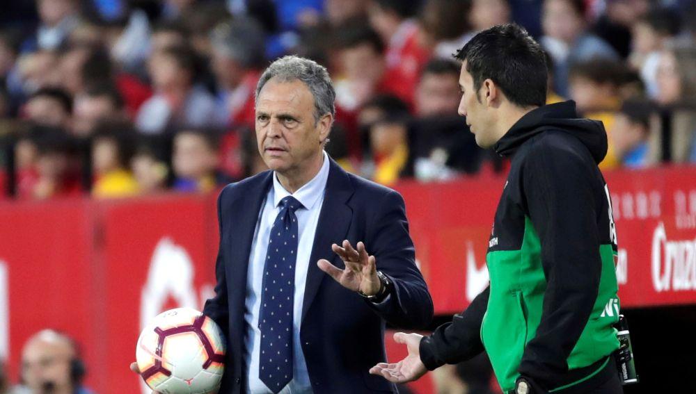 Joaquín Caparrós, entrenador del Sevilla