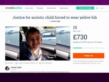 Una madre demanda al colegio de su hijo por obligarlo a llevar un chaleco reflectante para señalizar que es autista