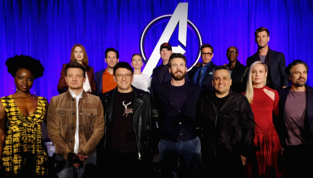 El equipo de 'Vengadores: Endgame' en su gira promocional