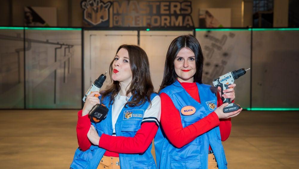 Silvia Marco y Maite Mosquera, pareja de peones en 'Masters de la reforma'