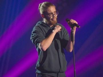 Andrés Martín llega a su límite vocal en los ensayos para la Final de 'La Voz'